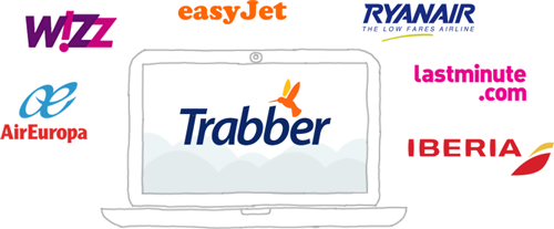 Trabber airlines and agencies providers